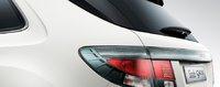 2011 Saab 9-4X, Back View. , exterior, manufacturer
