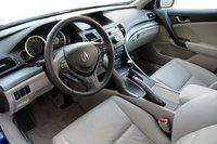 2009 Acura TSX 6-spd w/ Tech Pkg, bubble gum, interior