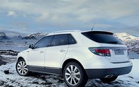 2011 Saab 9-4X, Back quarter view. , manufacturer, exterior