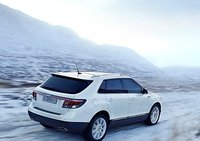 2011 Saab 9-4X, Back quarter view. , exterior, manufacturer