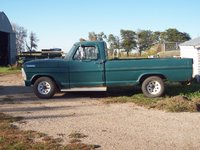 1967 Ford F-100, Older pic, I got new tires on there and I'm about to put the headlight bezels in primary, exterior