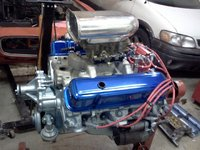 Picture of 1972 Pontiac Firebird, engine
