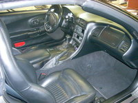 1999 Chevrolet Corvette Coupe, Picture of 1999 Chevrolet Corvette 2 Dr STD Coupe, interior