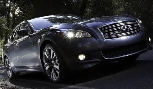 2012 Infiniti M35, Front quarter view. , exterior, manufacturer