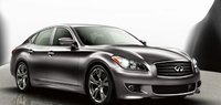 2012 Infiniti M37, Front quarter view of the 2012 Infiniti M Class. , exterior, manufacturer