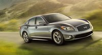 2012 INFINITI M37, Front View of the 2012 Infiniti M Class. , exterior, manufacturer