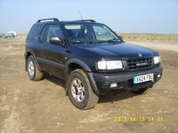 2001 Vauxhall Frontera Overview