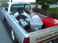 1986 Dodge Ram 50 Pickup, My life in the back of a dodgesubisi.  Funtastic!, exterior