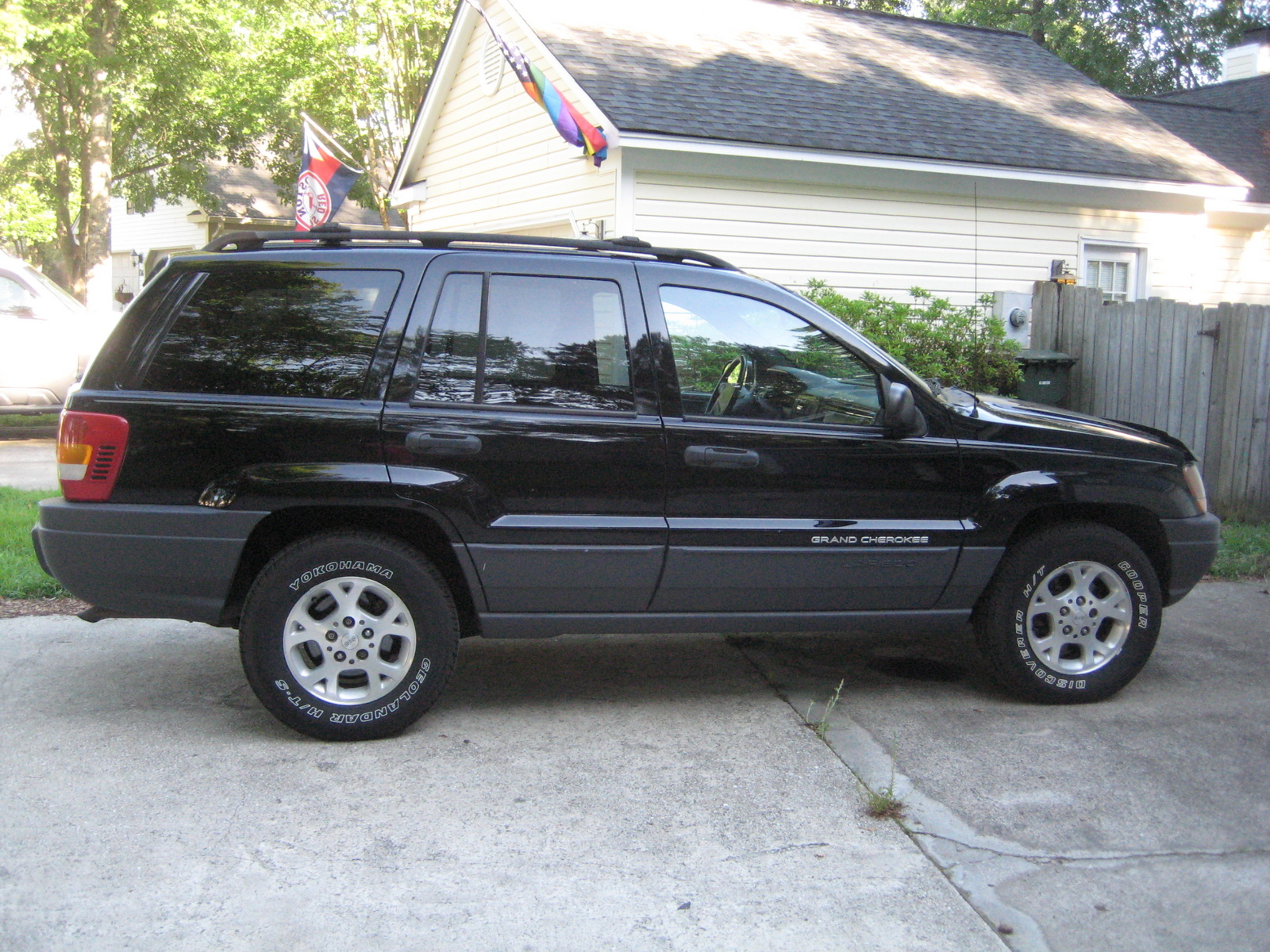 picture of 2000 jeep grand cherokee laredo exterior. Black Bedroom Furniture Sets. Home Design Ideas