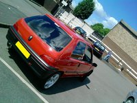 1998 Peugeot 106, → LINDSEY LOOKING IN ENVY OF THE BAVARIAN MOTORWAY MUNCHER ←, exterior