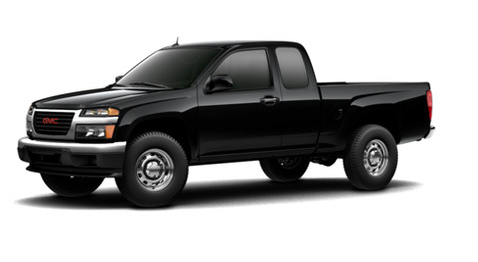 2012 GMC Canyon, Front quarter view. Copyright Yahoo autos., exterior