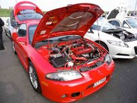 1998 Mitsubishi Eclipse GS-T Turbo picture, exterior, engine