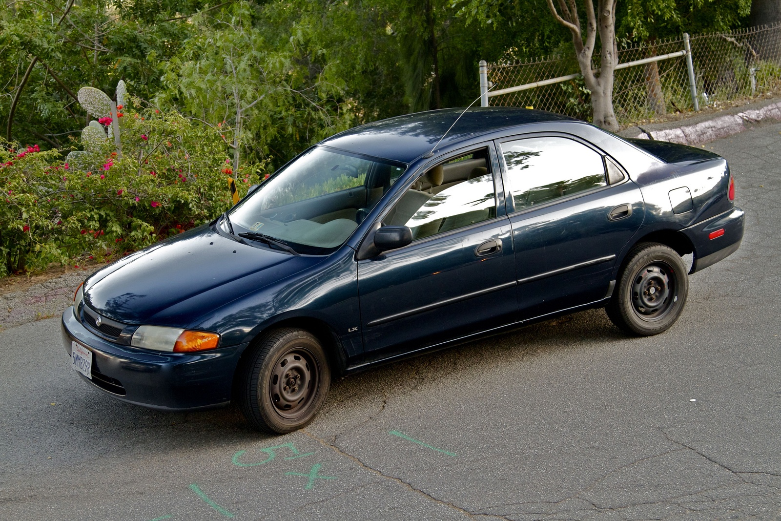 Picture of 1997 Mazda Protege 4 Dr LX Sedan