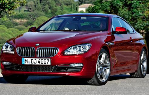 2012 BMW 6 Series, Front quarter view. , exterior, manufacturer