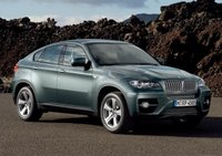 2012 BMW X6, Front quarer view © AOL Autos. , exterior