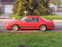 1986 Ford Thunderbird, 86 turbo coupe-92,000 original miles, third owner, exterior