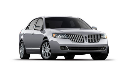 2012 Lincoln MKZ, Three quarter view © Yahoo Autos. , manufacturer, exterior