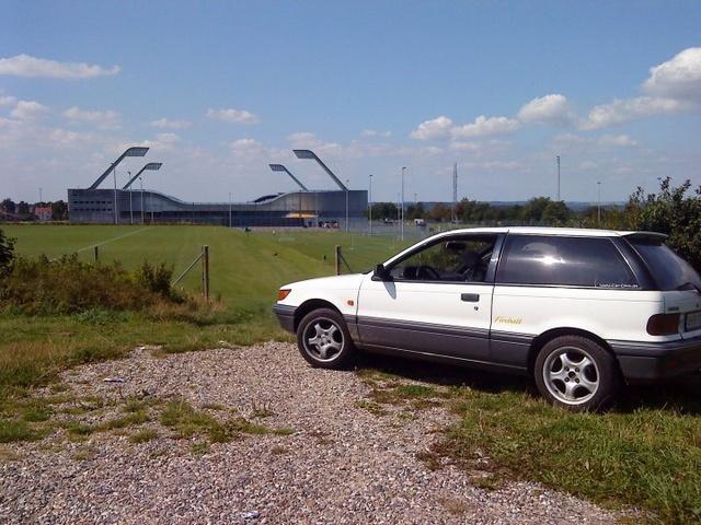 1991 Mitsubishi Colt, min gamle slæde :D, exterior, gallery_worthy