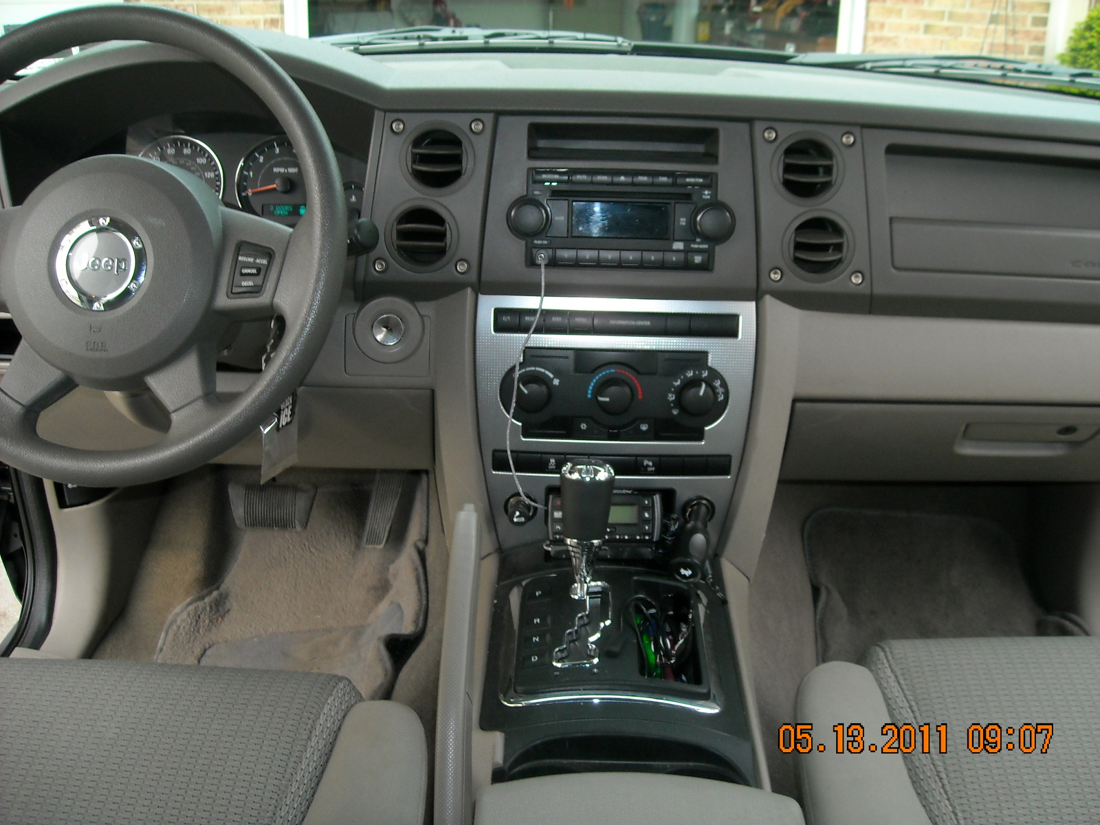 Jeep commander interior dimensions 2017 2018 best cars for Jeep commander interior