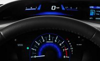 2012 Honda Civic Coupe, Close-up of Gage Instruments. , manufacturer, interior
