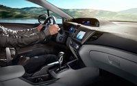 2012 Honda Civic Coupe, Driver Seat. , interior, manufacturer