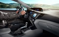 2012 Honda Civic Coupe, Driver Seat. , manufacturer, interior