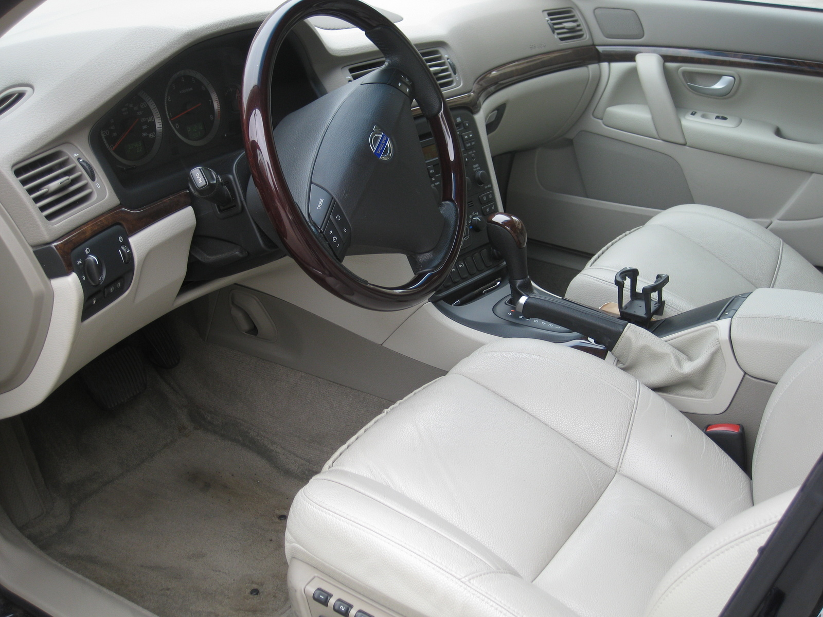 2006 Volvo S80 2.5T picture, interior