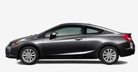 2012 Honda Civic Coupe, Side VIew. , exterior, manufacturer