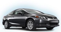 2012 Honda Civic Coupe, Front quarter view right. , exterior, manufacturer