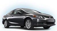 2012 Honda Civic Coupe, Front quarter view right. , exterior, manufacturer