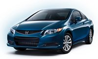 2012 Honda Civic Coupe, Front quarter view. , exterior, manufacturer