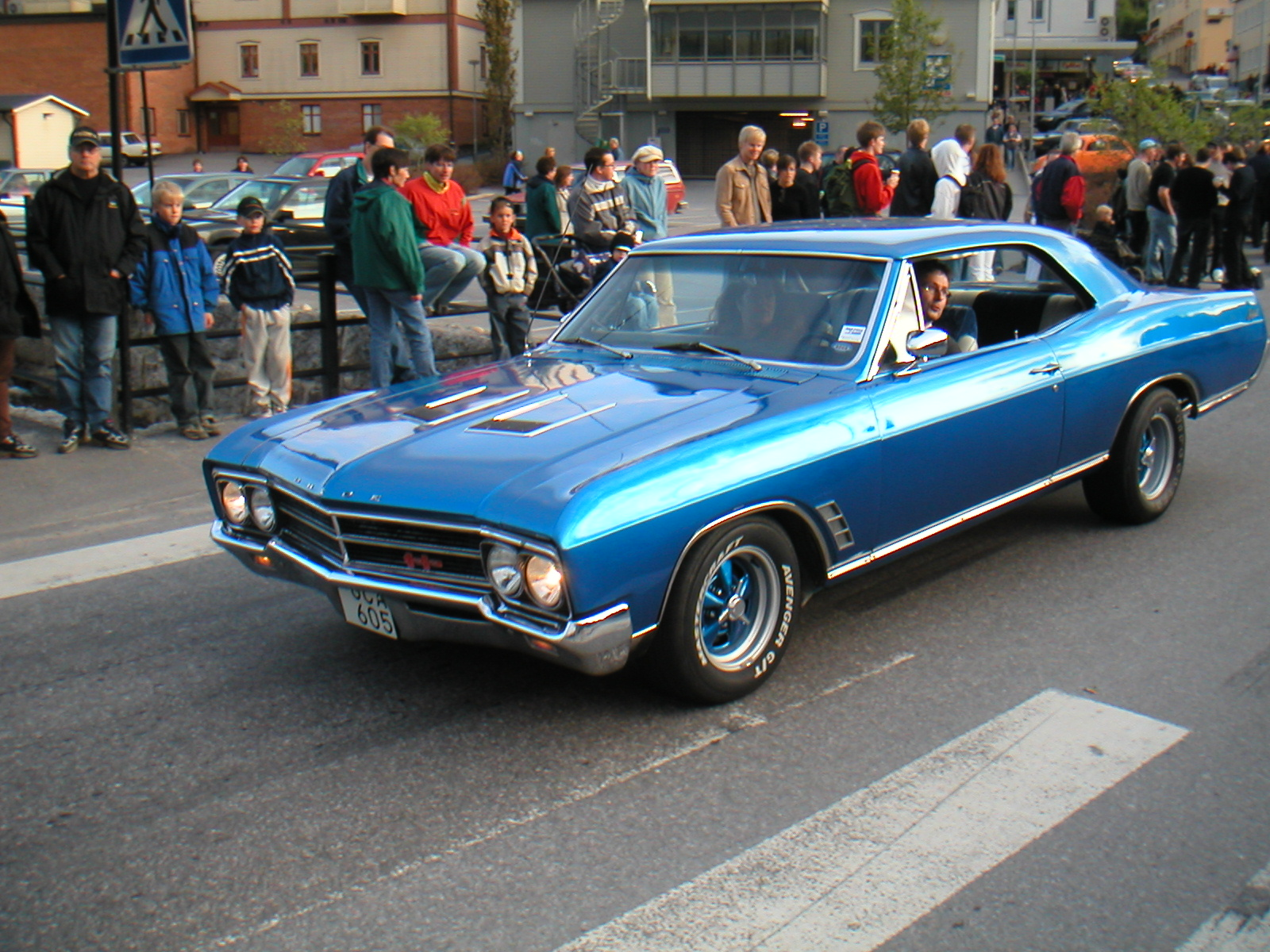 1966 Buick Skylark, Sold new in Sweden, exterior