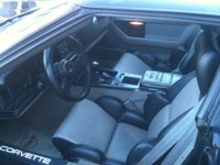 1989 Chevrolet Corvette Coupe picture, interior