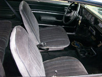 1978 Chevrolet Nova, 69 Camero seats replaced most of the interior., interior