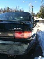 1993 Toyota Camry XLE V6, jai pas d'aile rond desus comme lui mais jai le meme derriere que lui ( pas ma photo mais une photo ressemblance) , exterior