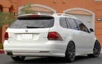 2009 Volkswagen Jetta SportWagen, Back quarter view. , exterior, manufacturer