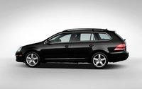 2009 Volkswagen Jetta SportWagen, Side View. , exterior, manufacturer