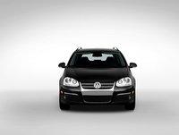 2009 Volkswagen Jetta SportWagen, Front View., exterior, manufacturer