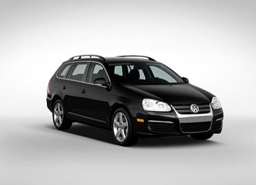 2009 Volkswagen Jetta SportWagen, Three quarter view. , exterior, manufacturer