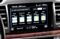 2012 Lincoln MKZ, Close-up of navigation screen. , manufacturer, interior