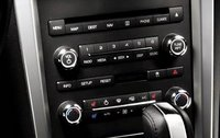 2012 Lincoln MKZ, Close-up of stereo., interior, manufacturer