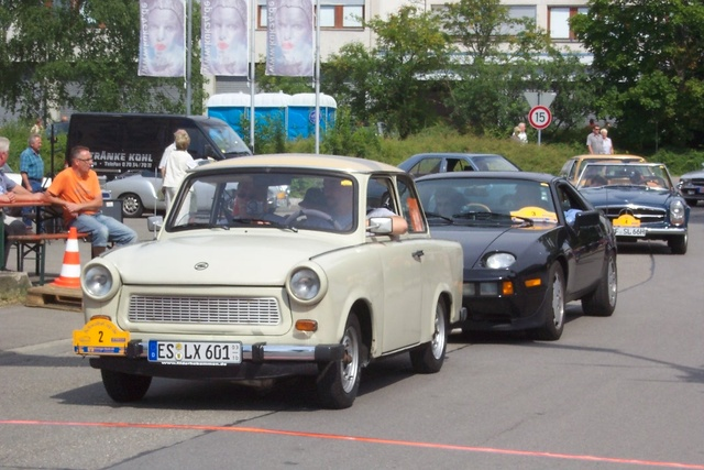 1983 Trabant 601, at a historic car race, exterior