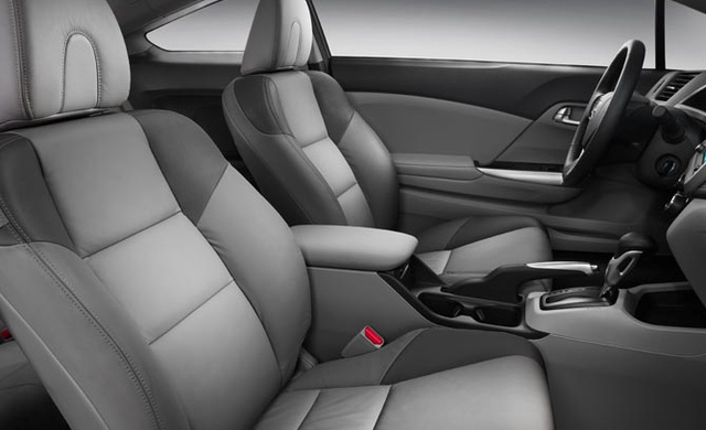 2012 Honda Civic Coupe, Front Seat. , interior, manufacturer