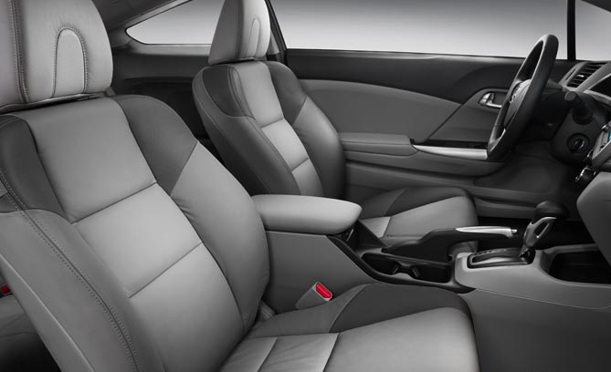 2012 Honda Civic Coupe, Front Seat. , manufacturer, interior