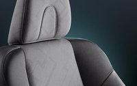 2012 Honda Civic Coupe, Seat interior detail. , interior, manufacturer