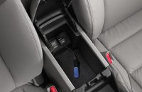 2012 Honda Civic Coupe, Close-up of Center Console. , interior, manufacturer