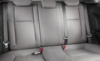 2012 Honda Civic Coupe, Back seat. , manufacturer, interior