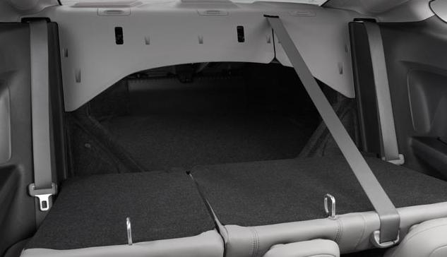 2012 Honda Civic Coupe, Fold down back seat. , interior, manufacturer