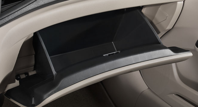 2012 Honda Civic, Close-up of center console., interior, manufacturer