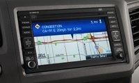 2012 Honda Civic, Close-up of navigation screen., interior, manufacturer